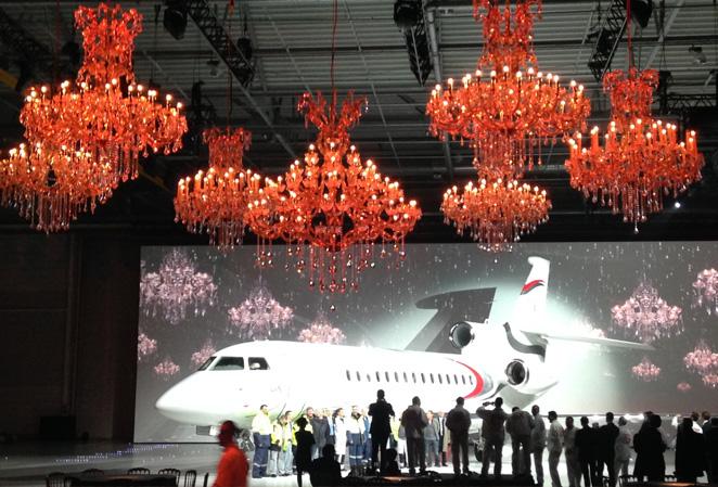 Location lustres Dassault